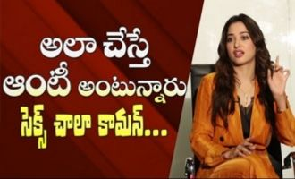 Love and S*x are very common: Tamannaah interview