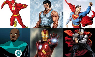 Feature Article: Tollywood Stars Re-imagined as Superheroes (Male)
