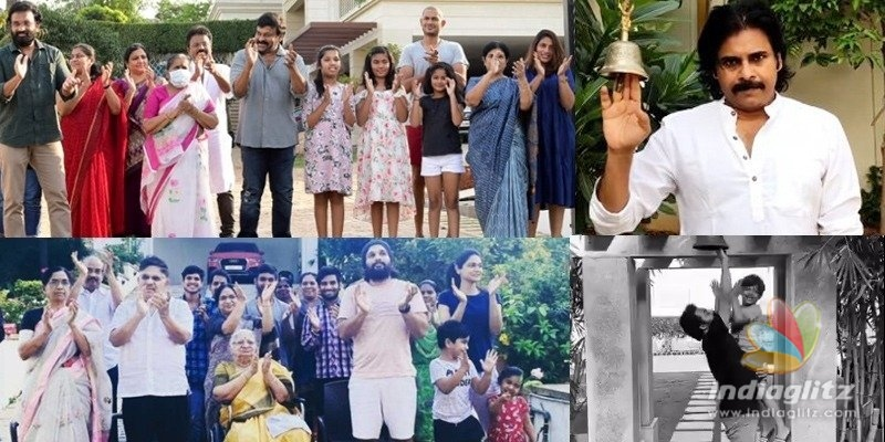 Chiru, PK, NTR, Allu Arjun, Ram Charan & others clap with gratitude