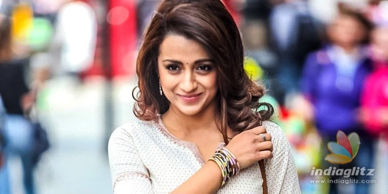 What Trisha said when asked about love of her life...