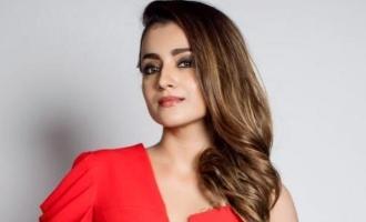 Trisha chooses her three best Indian actors