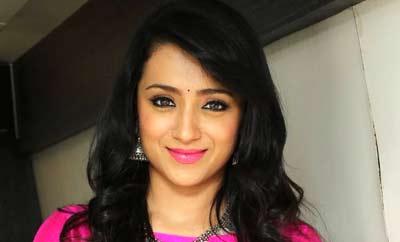 Govi is doing a great job: Trisha