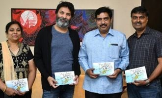 Trivikram releases collection of Om Prakash's cartoons