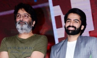 Trivikram Srinivas it is for Ram Pothineni!