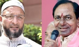 AIMIM assures support to TRS to form its Govt.