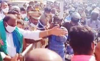 Viral Video: TRS MLA's supporters manhandle man during Bandh
