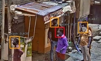 TS Police use Artificial Intelligence to identify those not wearing masks