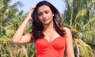Tuya Chakraborty looks ravishing in red swimsuit