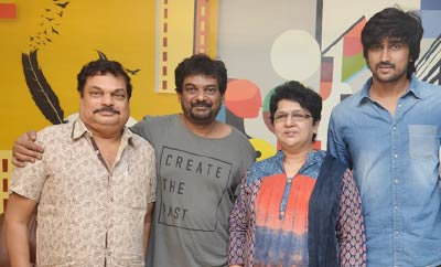 Puri Jagannadh With Vaisakham Team