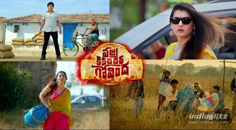 Vajra Kavachadhara Govinda Teaser: Hero consumes fire!