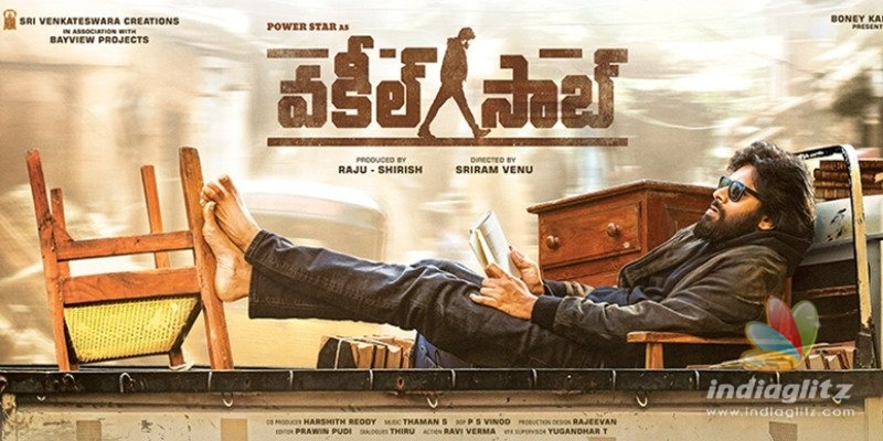 Stylish Pawan Kalyan curls up with a book in Vakeel Saabs First Look
