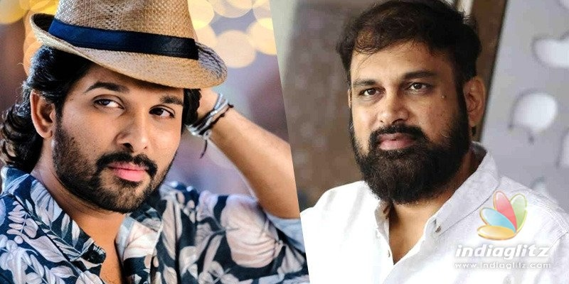 Vakkantham Vamsi again in talks with Allu Arjun?