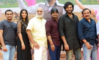 'Valmiki' team delighted with response for 'Elluvochi Godaramma'