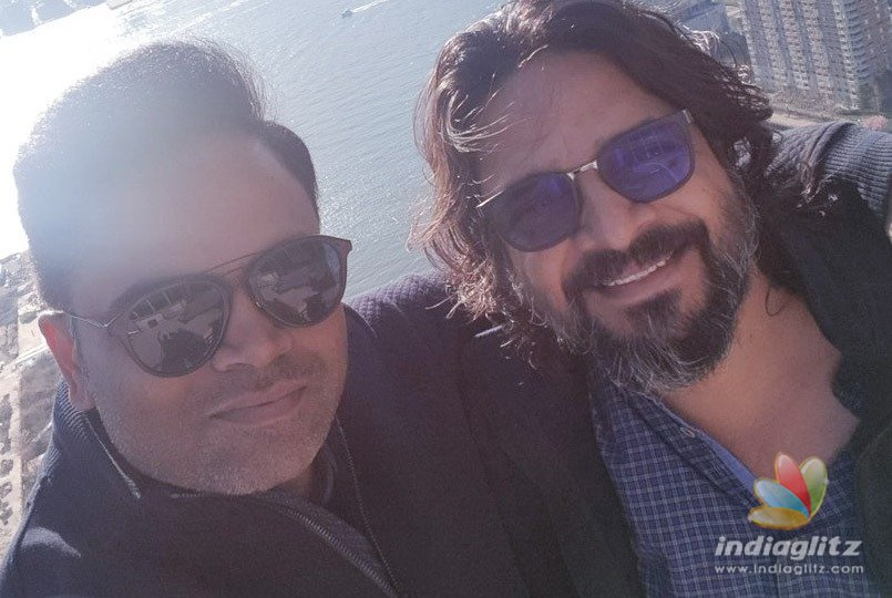 Vamshi preps up for Mahesh Babus film in NY