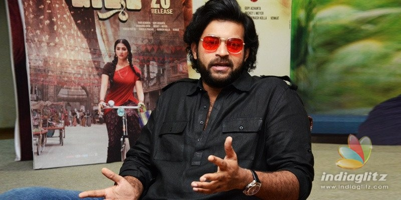Valmiki shows me in a fresh light: Varun Tej