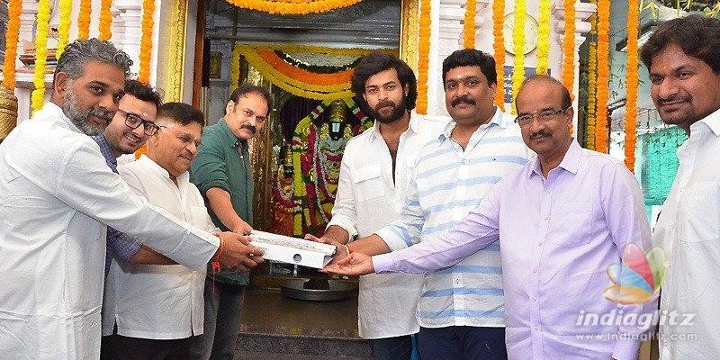 Varun Tej signs his first sports drama