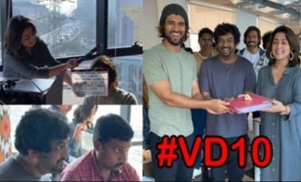 Vijay Devarakonda's Fighter Movie Opening