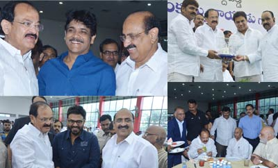 Tollywood Celebs @ M Venkaiah Naidu Greet and Meet Event