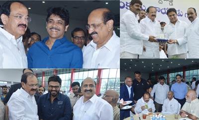 Tollywood Celebs @ M Venkaiah Naidu Greet and Meet Event