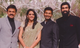 Venkatesh Daughter Ashritha and Vinayak Reddy Wedding Reception