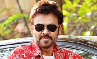 Venkatesh injures himself during shoot