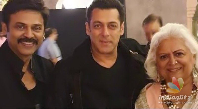 Salman Khan attends wedding of Telugu star Venkatesh's daughter Aashritha Daggubatti