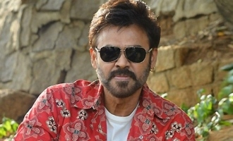 Venkatesh, his wife, daughters pose with Samantha