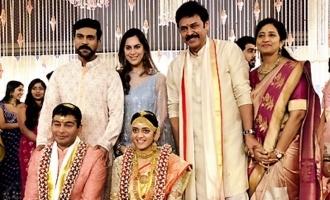 Venky's daughter weds in style