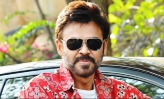 'F2' will have entertainment & message: Venkatesh