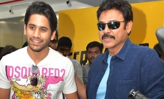 Venkatesh and Naga Chaitanya Launch Ducati 9th Showroom