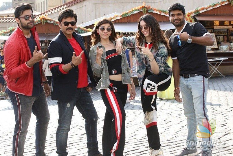 Four Tollywood stars having fun in Prague