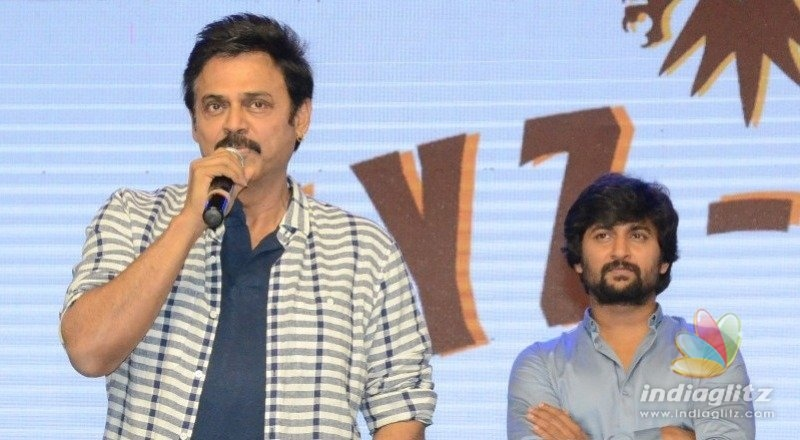 Jersey is a life lesson: Victory Venkatesh