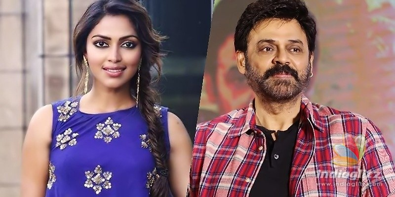 Amala Paul to shoot for Venkys action drama
