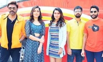 'Venky Mama' Team At Ramanaidu Studios