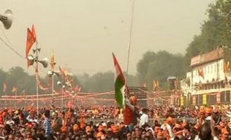 VHP's Delhi rally for Ram Temple a success