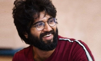 Vijay Deverakonda goes for home-made masks