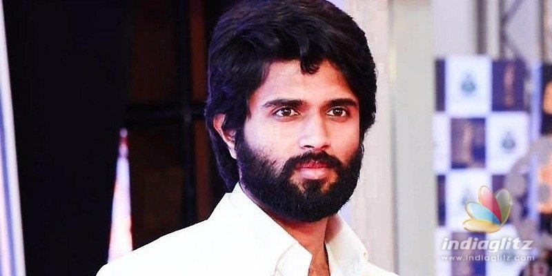 Vijay Deverakonda hits back after question on Rashmika's break-up