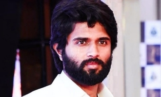 Pic Talk: Vijay Deverakonda with a sensational star