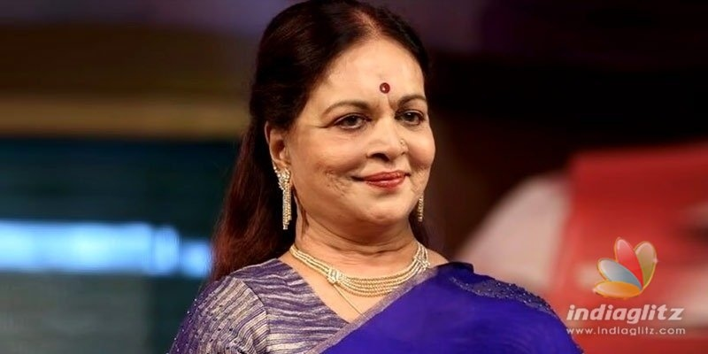Unique achiever, actress Vijaya Nirmala passes away
