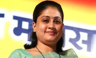 Vijayashanti about her role in Mahesh Babu's movie