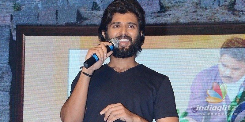 I reached this stage because of Anands financial support: Vijay Deverakonda