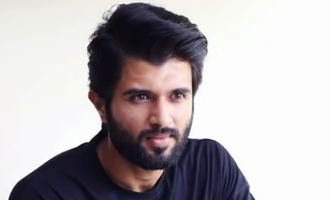 Vijay Deverakonda shoots for a promotional song