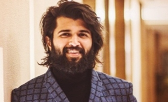 Vijay Deverakonda crosses a milestone on Instagram