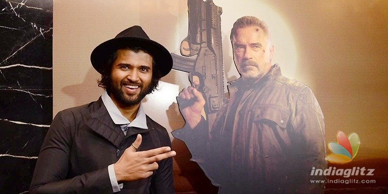 Pic Talk: Vijay Deverakonda does it for Terminator Dark Fate