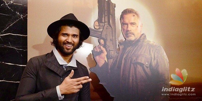 Pic Talk: Vijay Deverakonda does it for Terminator Dark Fate