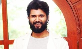Vijay Deverakonda's crazy new look it is!