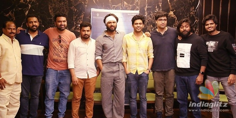 I am proud of Naveen Polishetty: Vijay Deverakonda on Agent Sai Srinivas Athreya