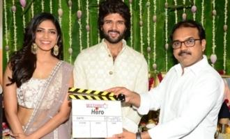 Vijay Deverakonda's 'Hero' launched; Malavika is heroine