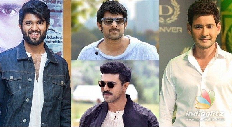 Desirable list: Vijay Deverakonda 1st, Prabhas 2nd