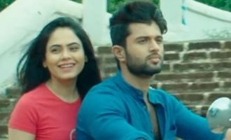 Vijay Deverakonda romances Malobika in music video